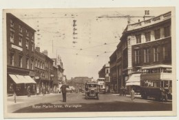 Warrington  Butter-Market Street  1944 By Arthur Davidson´s Series - Autres