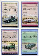 Tuvalu **  N° 279 à 286 - Automobiles -