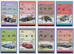 Tuvalu **  N° 339 à 354 - Automobiles -