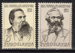 Yugoslavia,100 Years Of The First International 1964.,MNH - 1945-1992 Socialist Federal Republic Of Yugoslavia