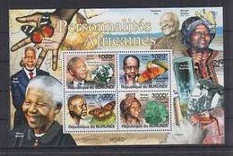 Burundi Minerals Nobel Nelson MANDELA Albert LUTULI