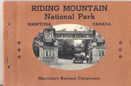 "Riding Mountain National Park, Manitoba, Canada Manitoba's National Playground 16 Views 9"" X 6""  22.5 Cm X 15 Cm - Exploration/Travel"