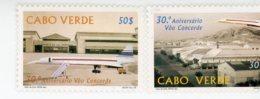 Cap Vert-Cabo Verde-1999-Concorde-732/3***MNH