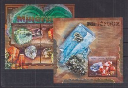 T12 Burundi - MNH - Minerals - 2012