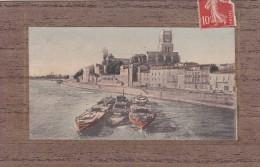16U - 30 - Pont-Saint-Esprit - Gard - Vue Générale Et Le Rhône 2ème Vue - Pont-Saint-Esprit