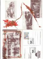 PROGRAMMA ITALIA LOTTO 4 CARTOLINE DIVERSE COD.BU.068 - Macerata