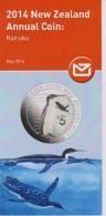 New Zealand 2014 Brochure About Annual Coin: Kairuku - Materiaal