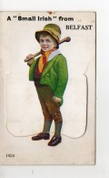A Small Irish From Belfast  Carte Accordeon - Illustrateurs & Photographes