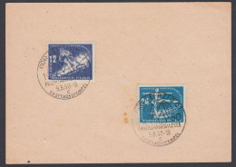 Germany GRD 1950, Card W./postmark Leizpig