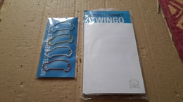 1  Bloc Papier Renault Et Trombone Twingo Renault - Andere Sammlungen