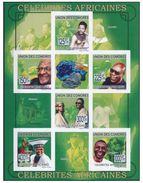 Comores Minerals Mineraux Nelson MANDELA Sheetlet Imperf