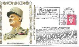 93  EPINAY SUR SEINE  50° Anniversaire De La Libération D'Epinay Sur Seine 1944/1994  26/08/94