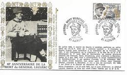 61  ALENCON  Libération D'Alençon 40° Anniversaire De La Mort Du Maréchal Leclerc  5/12/87
