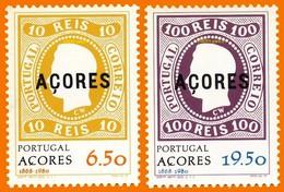 Açores (Portugal) **LUXE 1980 P 323 Et 324 Paire
