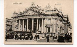 BRUXELLES  La Bourse   Tram 48 - Non Classés