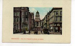 BRUSSEL BRUXELLES Rue De La Regence Et Palais De Justice   Tram S46 - Bruxelles-ville