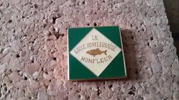 1 PINS PECHE DE HONFLEUR POISSON - Pin's & Anstecknadeln