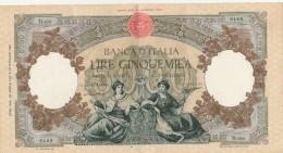 Italie Banca D´ Italia Billet 5000 Lires 23/4/1956 N° M609 - 9183 Signé Menichella Et Boggione - Neuf Petit Pli Central - 5000 Lire