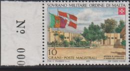 SMOM Sovereign Military Order Of Malta Mi 88 - Leper Colonies - Institute Of Leprology In Dakar - Flags - 1973 * * - Malta (Orde Van)