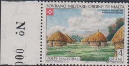 SMOM Sovereign Military Order Of Malta Mi 86 - Leper Colonies - African Village For Rehabilitation - 1973 * * - Malta (Orde Van)