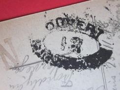 WW1 Militaria Autorité Militaire Censure N°12  Puce 6 -1918  Marcophilie(Lettre CPA Paris Tour St Jacques Guerre14/18 - Poststempel (Briefe)