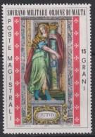 SMOM Sovereign Military Order Of Malta Mi 101 - Cardinal Virtues - Fortress 1974 * * - Malta (Orde Van)