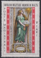 SMOM Sovereign Military Order Of Malta Mi 102 - Cardinal Virtues - Temperance 1974 * * - Malta (Orde Van)