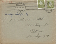 Germany - Cover Used Hamburg  1932.  H-871 - Germany