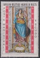 SMOM Sovereign Military Order Of Malta Mi 103 - Cardinal Virtues - Justice 1974 * * - Malta (Orde Van)