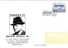 Olympiques Olympic 1924 Paris Shooting Halasy Gyula Dr. TEMAFILA 1994 Budapest