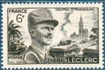 France - 1948 - Anniversaire De La Mort Du Général Leclerc -Y&T N°815 ** Neuf Luxe ( 1er Choix ).