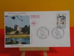 FDC > 1980-1989 > Château De Sédières - 19 Clergoux - 2.7.1988 - 1er Jour. Coté 3,50 € - FDC