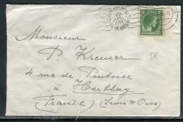Luxembourg - Enveloppe De Luxembourg Pour Paris En 1950 , Oblitération Plaisante   Réf O 141