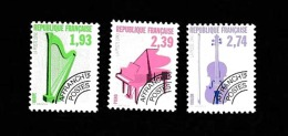 France Préoblitéré 1990 Neufs ** Série 210 - 212