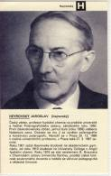 Jaroslav HEYROVSKY -  Tschechischer Physikochemiker,  Nobelpreis Für Chemie - Prix Nobel