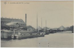 28083g BATEAU - CANAL - Courcelles-Motte - SBP 4 - Courcelles