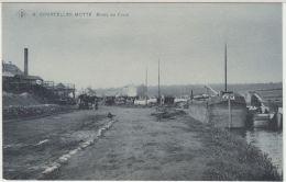 28084g BORDS  DU CANAL - BATEAU -  Courcelles-Motte - SBP 8 - Courcelles