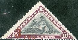 LIBERIA, COMMEMORATIVO, 1918, COMMERCIO, FRANCOBOLLO NUOVO (MLH*), Scott 162,  YT 139 - Liberia
