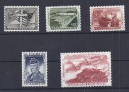 BELGIE - BELGIQUE 1032/36  Memorial Generaal Patton  Postfris - Neuf - Without Hinged - 1957