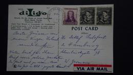 USA -  1933/1965 - Mi:353+893 On Postcard - Look Scans