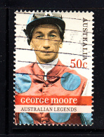 Australia Used Scott #2603 50c George Moore - Australian Legends - Horseracing - 2000-09 Elizabeth II