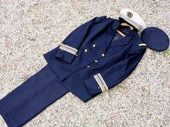 INGENIEUR CHEF ARMEMENT MARINE NATIONALE - CASQUETTE + VESTE  + PANTALON  #.2 ----------