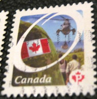 Canada 2011 Flag And Armed Forces P - Used