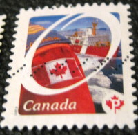 Canada 2011 Flag And Ship P - Used