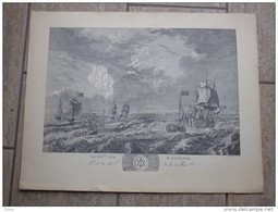 Seconde Vue D'Ostende Par L.J.Masquelier 1737 - Lithographies