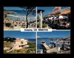 13 - LA COURONNE - Plage De SAINTE-CROIX - TAMARIS - Camping Les Mouettes - France