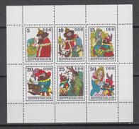 DDR  Jahrgang 1976 KB  Rumpelstilzchen  Postfrisch - Blocs