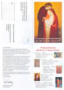 Bestellschein Österreich Wien Kirche In Not Ostpriesterhilfe 2000 Weihnachten Lumen Christi Katholizismus Christentum - Alte Papiere