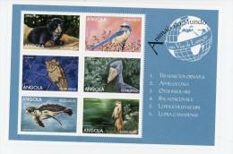 Angola 1999-Tortue,hiboux,...YT 1257/62***MNH