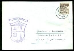 Deutsche Bundespost Spezial Umschlag Tender Neckar 7.S.-Geschwader Stempel Kiel - Maritime